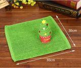 Toalla de baño promocional comprimida del regalo de la dimensión de una variable del árbol de navidad