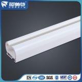 Perfil de aluminio de la alta calidad del OEM 6063t5 con la superficie de la capa del polvo