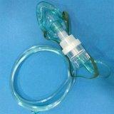 Medizinische Aerosol-Zerstäuber-Wegwerfschablone mit gut-Funktion (Grün, pädiatrische längliche mit Glas des Zerstäuber-6ML/20ML)