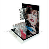 Supports cosmétiques d'étalage de brochure de renivellement de carton de bureau