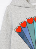 주문 소녀의 인쇄된 스웨터 Hoodie