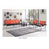 普及した古典的なデザイン革オフィスのソファーの公共のソファーの待っているソファーおよび椅子