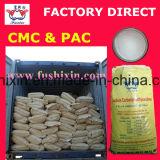 Celulosa carboximetil aditiva industrial, espesante CMC de apresto