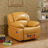연약하고 편리한 Recliner 팔 의자 가정 극장 소파