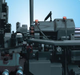 Машина автоматического токарного станка просто портативной безаварийной работы точности горизонтальная