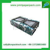 Caja de cartón cosmética del rectángulo de Fullset con la ventana del PVC