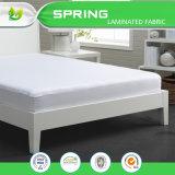 2017 새로운 유기 대나무 테리 피복 방수 어린이 침대 침대용 깔개 덮개