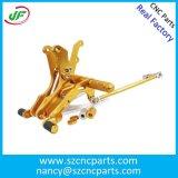 Peça fazendo à máquina /Aluminum do CNC que forja a forjadura de /Brass/a peça do bronze máquina de soldadura