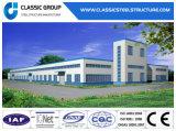 Entrepôt se réunissant facile/atelier de structure métallique de coût bas préfabriqué avec le modèle