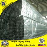 Tubo quadrato galvanizzato Ss400 di ASTM A36