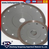 Turbo continu Rim Cyclone Mesh Turbo Diamond Blade pour Ceramic Tile