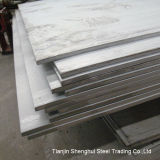 Placa de aço inoxidável laminada a alta temperatura (classe 304)