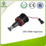 L'indicatore luminoso dell'automobile del CREE LED con l'angelo Eyes 12V 20W 7000k