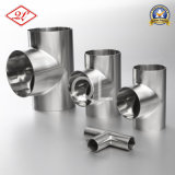 304/316L Sanitary Stainless Steel Welded Equal Tee