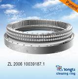 Row dobro Steel Ball Slewing Bearing com ISO 9001 para Crane