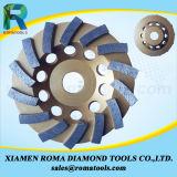 花こう岩、コンクリート、大理石のためのRomatoolsのダイヤモンドのコップの車輪