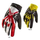 Перчатки всадников мотоцикла Fox красного желтого цвета модельные (MAG33)