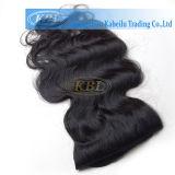 アフリカ系アメリカ人のための毛の拡張の品質のRemyクリップ