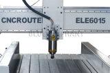 Ranurador del CNC de la maquinaria de carpintería de Ele 6015, pequeño ranurador del CNC para la industria de publicidad
