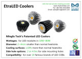L'aluminium de refroidissement élevé a expulsé radiateur pour l'éclairage LED