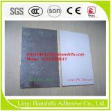 PVC- pegar un pegamento del PVC de la tarjeta del pegamento y de yeso de la piel