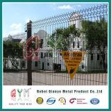 Caliente-Sumergido cerca soldada cubierta/polvo cubierta galvanizada/del PVC de alambre del acoplamiento
