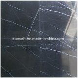 Nero Margiua Marble, Black Marquina Marble Tile per Floor/Wall
