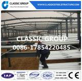 Magazzino/gruppo di lavoro prefabbricati della struttura del blocco per grafici d'acciaio del granaio del metallo