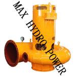 turbina pequena Volute do fluxo 10kw axial mini hidro para a irrigação