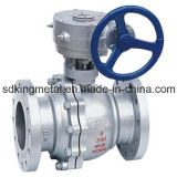 던지기 Steel 600lbs Flanges End Ball Valve