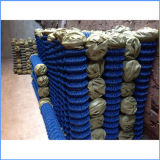 Загородка звена цепи PVC Weave Twill Coated для быть фермером
