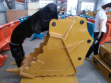 Das hydraulische Exkavator-Zupacken-Demolierung-Zupacken hält Finger-Zupacken-Daumen-Wanne fest