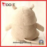 Brinquedo enchido animal do hipopótamo de Sstuffed do hipopótamo do animal enchido do hipopótamo do luxuoso