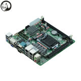 Scheda madre Mini-Itx con H61, LGA1155, 1*VGA, 1*DVI, 2*Rtl8111e