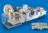 Maschineminihanky-Faltblatt gedrucktes geprägtes Taschentuch des Taschentuch-400PCS/Min