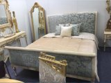 5 Star Middle East Style Hotel Luxo Antique Antique Kingsize Bedroom (NPHB-1203)