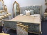 Mobilia cinque stelle antica di lusso della stanza dell'hotel di stile del Medio Oriente/della camera da letto stile europeo/classico Kingsize (NPHB-1203)