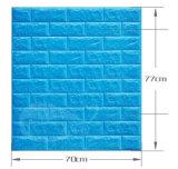 Papel de parede do tijolo da espuma de Japão XPE/painel ambientais Pele-Amigáveis