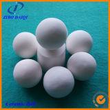 Sfera di ceramica dell'allumina di 92% con alta concentrazione di schiacciamento