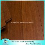 El piso de bambú tejido del filamento del precio bajo de la alta calidad utilizó de interior en color de Cumaru