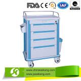 Spitzenverkauf! ABS Emergency Medizin-Karre (CE/FDA/ISO)