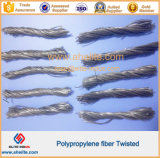 Высокое Tensile Twisted Bundle PP Fibre для Cement