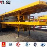 12.00r22.5 band 28 Ton van Landingsgestel 3 Aanhangwagen van de Container van Assen Flatbed