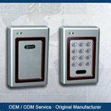 13.56MHz RFIDのカードの強打機能の単一のドアのための無線アクセス制御ドアの時間出席
