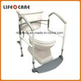 Commode de toilette de bâti de sûreté avec le siège des toilettes augmenté complété
