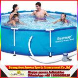 Nueva piscina del PVC del marco del corchete del diseño para la piscina grande inflable del marco del corchete del parque del agua de los adultos y de los cabritos