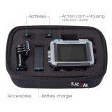 Rectángulo protector del bolso de la cámara de Sjcam del almacenaje a prueba de choques hidrófugo de la caja para el accesorio de Xiaomi Yi Sjcam del héroe de Gopro