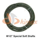 Drenar uma tubulação de esgoto mais limpa da obstrução do eixo helicoidal do cabo da ferramenta da serpente do encanamento