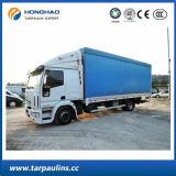De uv-bestand HDPE van de Dekking van de Vrachtwagen Duurzame Stof van het Geteerde zeildoek