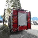 Sinotruk HOWO 4X2の消火活動のトラック